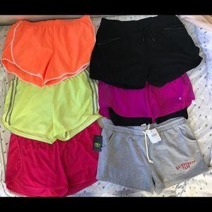 7 pair of Medium athletic shorts